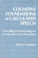 Cognitive Foundations of Calculated Speech Pdf/ePub eBook