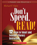 Don't Speed, Read!