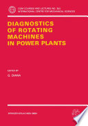 Diagnostics of Rotating Machines in Power Plants Book