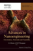 Advances In Nanoengineering  Electronics  Materials And Assembly