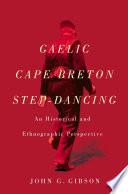 Gaelic Cape Breton Step Dancing Book PDF