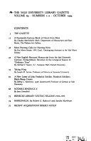 The Yale University Library Gazette Book