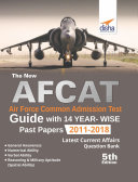 The new AFCAT Guide with 14 Year-wise Past Papers (2011 - 2018) 5th Edition Book