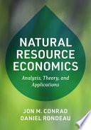 Natural Resource Economics