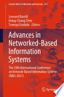 Advances in Networked Based Information Systems Book