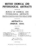 British Chemical Abstracts Book