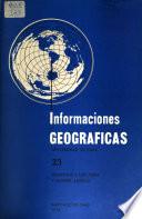 Informaciones geográficas  , Volumes 23-28