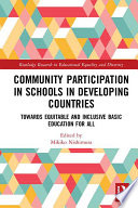 Community Participation with Schools in Developing Countries