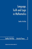 Language  Truth and Logic in Mathematics