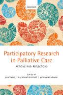 Participatory Research in Palliative Care