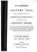 Mr  Warburton s Anatomy Bill