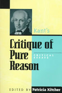 Pdf Kant's Critique of Pure Reason