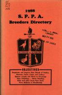 S.P.P.A. Breeders Directory Pdf/ePub eBook