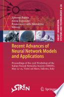 Recent Advances of Neural Network Models and Applications Book