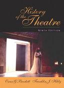 History of the Theatre Book PDF