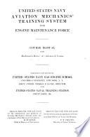 United States Navy Aviation Mechanics' Training System for Engine Maintenance Force