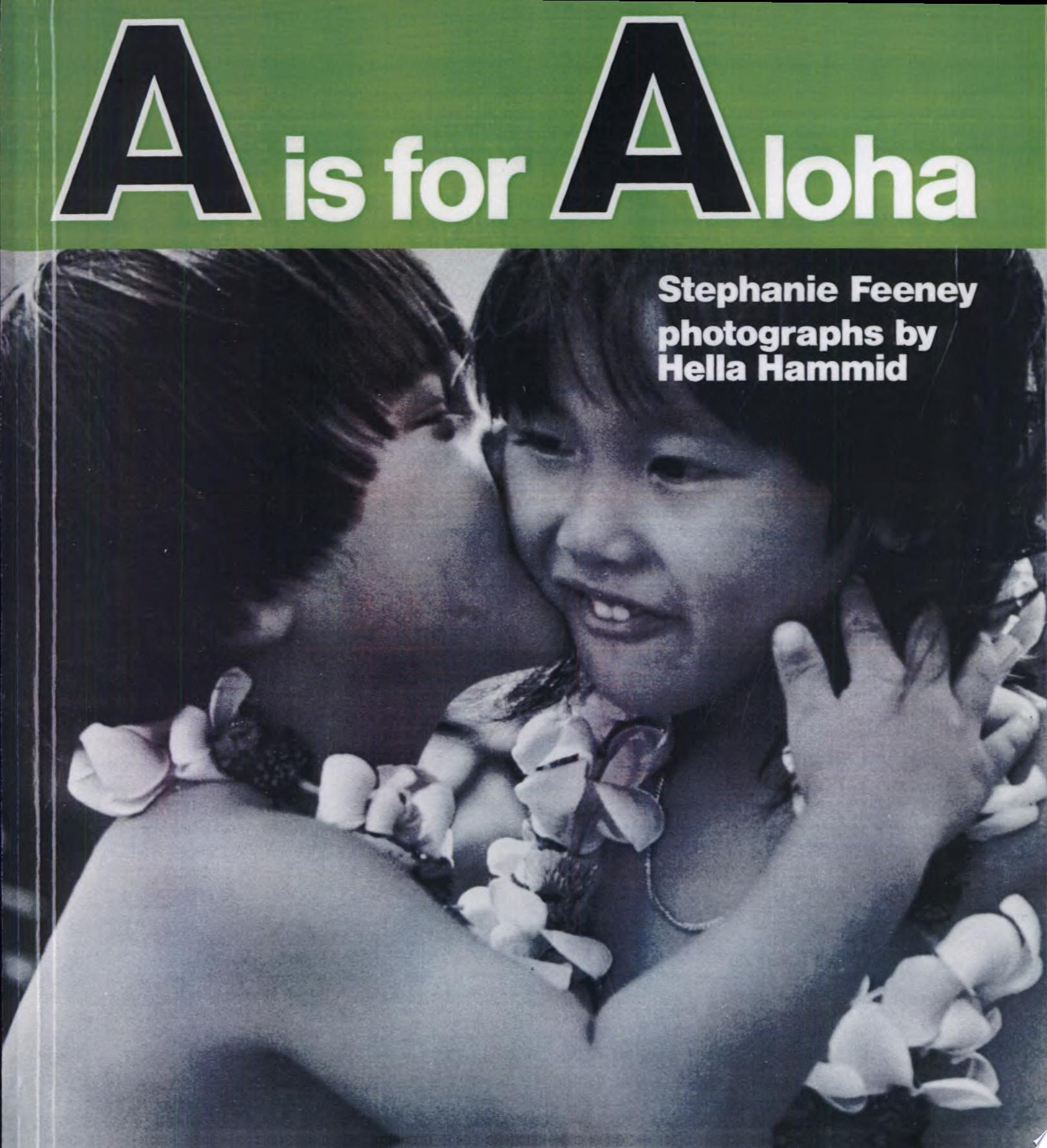 A  Is for Aloha