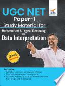 UGC NET Paper-1 Study Material for Mathematical & logical reasoning & Data Interpretation
