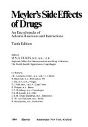 Meyler S Side Effects Of Drugs Book PDF