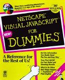 Netscape Visual JavaScript for Dummies