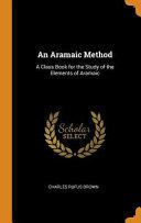 An Aramaic Method