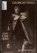 Georges Thill & l'opéra français