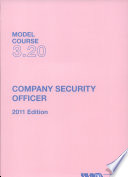 Company Security Officer Book PDF