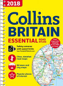 2018 Collins Essential Road Atlas Britain