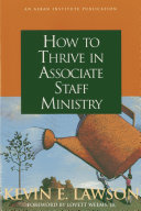 How to Thrive in Associate Staff Ministry [Pdf/ePub] eBook