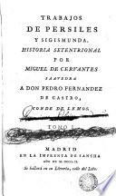 Trabajos de Persiles y Sigismunda, 1  : historia setentrional