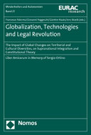 Globalization, Technologies and Legal Revolution