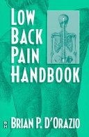 Low Back Pain Handbook