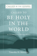 Pdf Called to be Holy in the World Telecharger