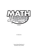 Common Core Math 4 Today, Grade 5: Daily Skill Practice