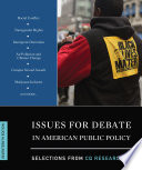 Issues for Debate in American Public Policy Book