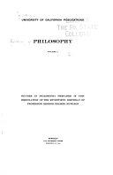 The Summum Bonum: Evander Bradley McGilvary