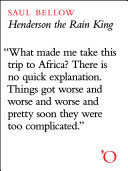 Henderson the Rain King Book