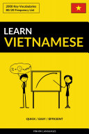Learn Vietnamese   Quick   Easy   Efficient