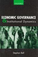 Economic Governance   Institutional Dynamics