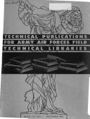 Technical Publications for Army Air Forces Field Technical Libraries