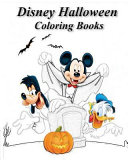 Disney Halloween Coloring Books