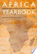 Africa Yearbook Volume 10