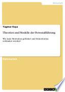 Theorien und Modelle der Personalführung