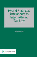 Hybrid Financial Instruments in International Tax Law