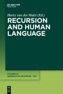 Recursion and Human Language