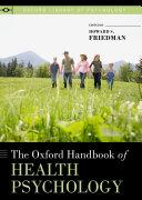 The Oxford Handbook of Health Psychology Pdf/ePub eBook