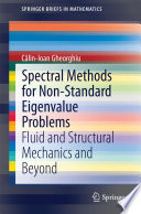 Spectral Methods for Non-Standard Eigenvalue Problems