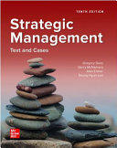 Loose Leaf for Strategic Management  Text and Cases