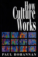 Pdf How Culture Works Telecharger