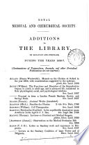 Catalogue With Additions To The Library 1856 75